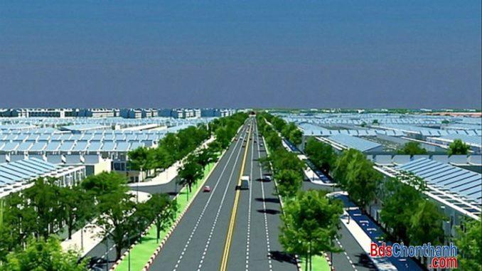 Mô hình Dự án khu đô thị Becamex Bình Phước