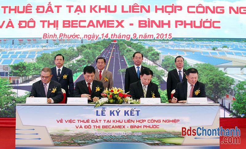 le-khoi-cong-khu-cong-nghiep-va-do-thi-becamex-binh-phuoc