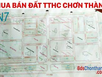 Bán đất TTHC Chơn Thành, Bình Phước