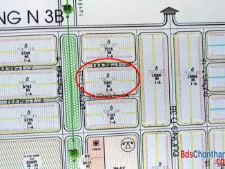 Bán lô đất đường T2A tái định cư Becamex Bình Phước