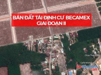 Bán đất Becamex Chơn Thành