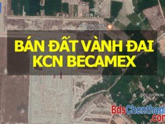 Bán đất vành đai KCN Becamex Bình Phước