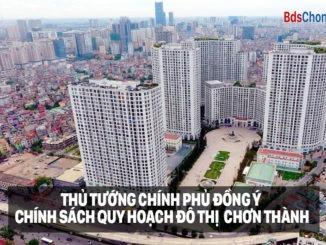 Quy hoạch khu đô thị Chơn Thành - Bình Phước