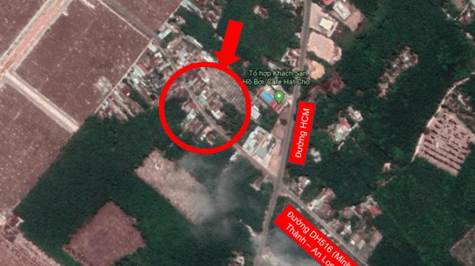 Bán đất trục đường DH516 Minh Thành - An Long