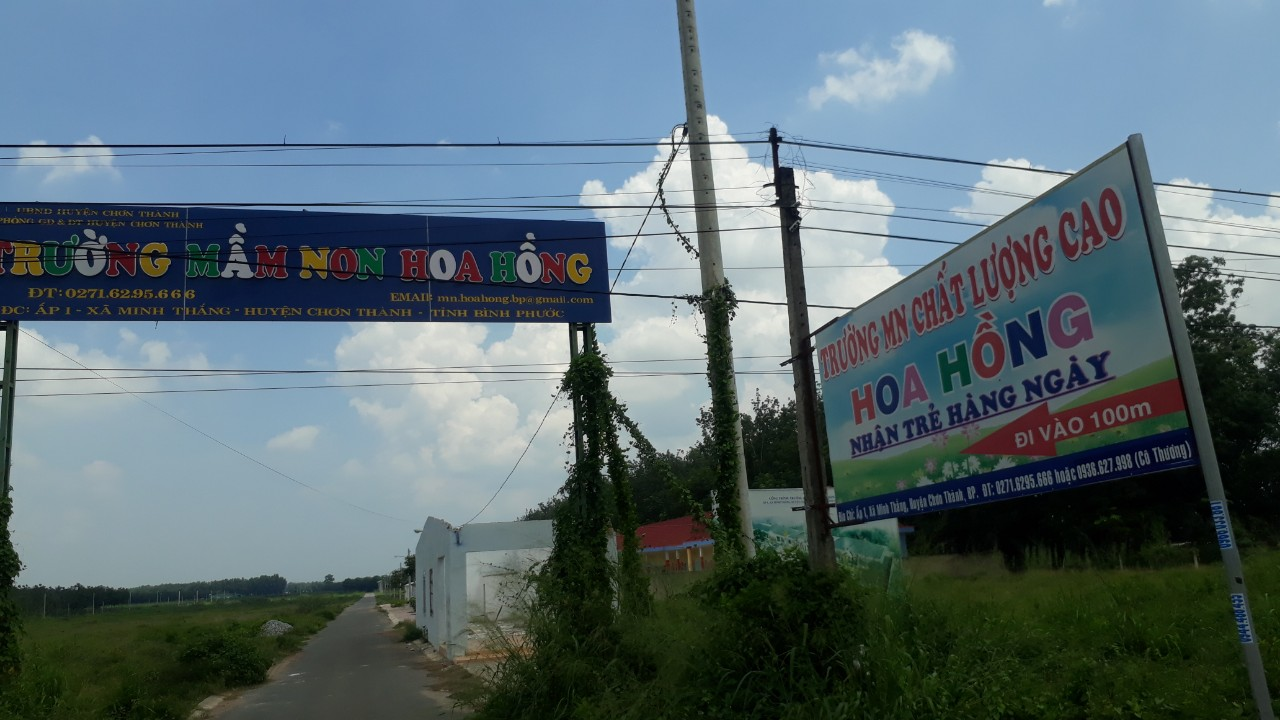 Bán đất Minh Thắng, Chơn Thành, Bình Phước