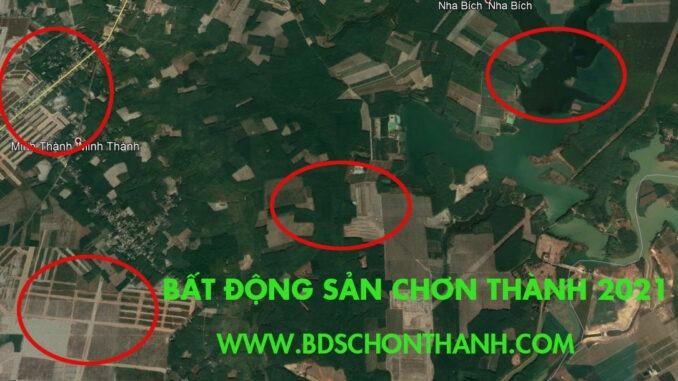 Bán đất ấp 2 Minh Thành