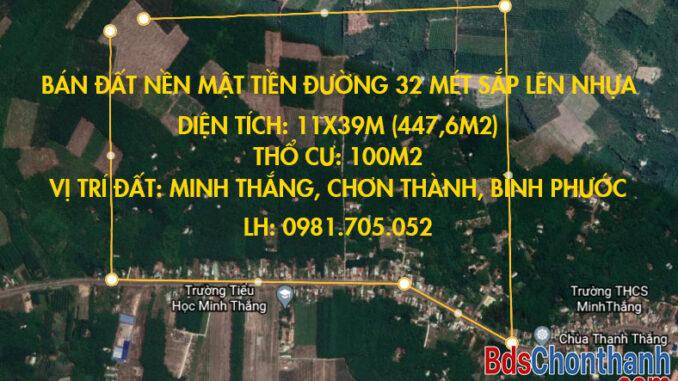 ban-dat-duong-32-met-xa-minh-thang-huyen-chon-thanh-tinh-binh-phuoc