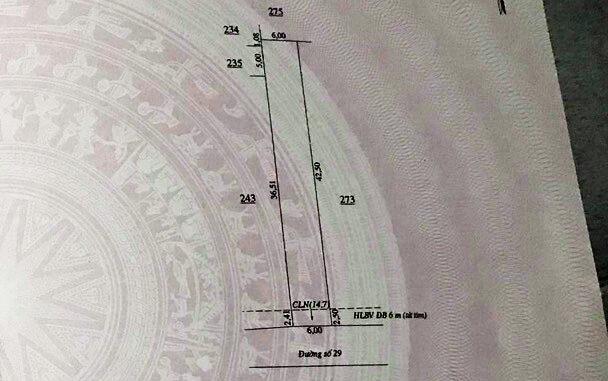 Bán đất vành đai Becamex Bình Phước 6x45 mét